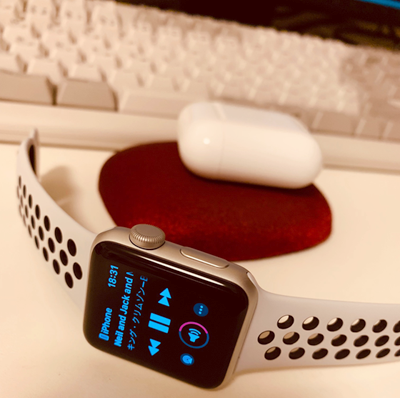 airpodsとapple watch